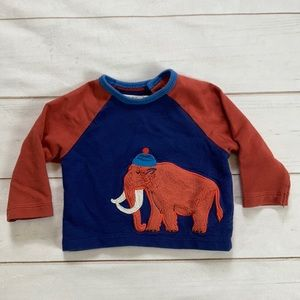 Baby Boden Woolly Mammoth Top